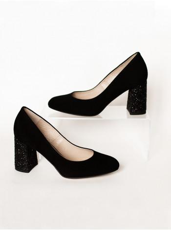 Туфли замшевые SHOEBOOUTIQUE (Poland ) 12150 черные