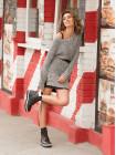 Полуботинки-спорт осенние кожаные ROCOCO (ИСПАНИЯ) 13529 черные