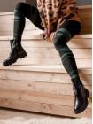 Полуботинки осенние кожаные DESCARA (Turkey) 14127 черные