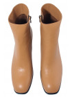 Полусапожки осенние кожаные SECRET ZONE (Turkey) 14198 коричневые
