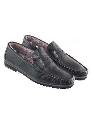 20609 SIGOTTO UOMO 3236 пенни-лоферы кожаные черные