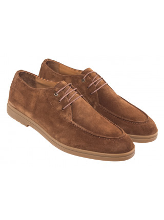 20610 SIGOTTO UOMO 3672 ботинки коричневые замшевые