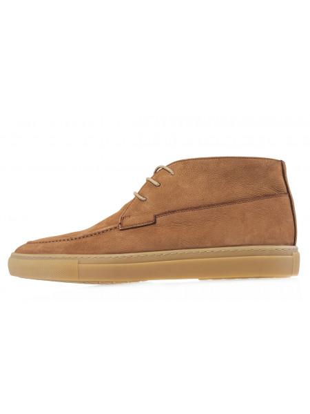 20615 SIGOTTO UOMO 5528 Ботинки кожаные коричневые