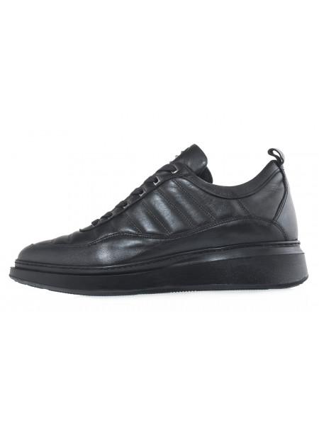 20618 JOHN RICHARDO 13542 BLACK кеды кожаные черные