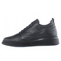 20621 JOHN RICHARDO 13654 BLACK ботинки кожаные черные