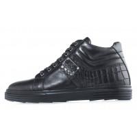 20623 JOHN RICHARDO 13047 BLACK ботинки  кожаные черные