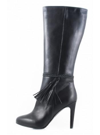 10328 GUBAN (Romania) Сапоги осенние кожаные черные