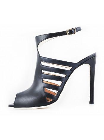 10758 REDA MILANO (Italy) Босоножки кожаные черные