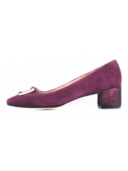 10964 LODI (Spain) Туфли замшевые фиолетовые
