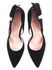 10969 LODI (Spain) Туфли открытые замшевые черные
