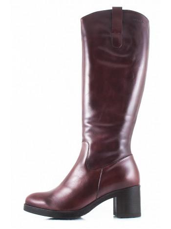 10974 WONDERS (Spain) Сапоги осенние кожаные коричневые