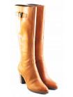 Сапоги осенние кожаные TAMARIS (Germany) 11057 светло-коричневые