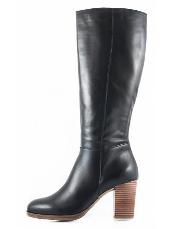 Сапоги осенние кожаные TAMARIS (Germany) 11074 черные