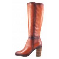 Сапоги осенние кожаные TAMARIS (Germany) 11075 коричневые