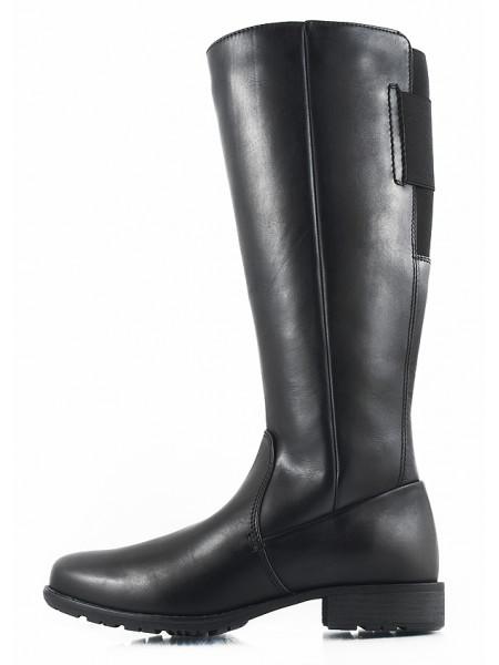 11095 JANA (Germany) Сапоги зимние кожаные черные