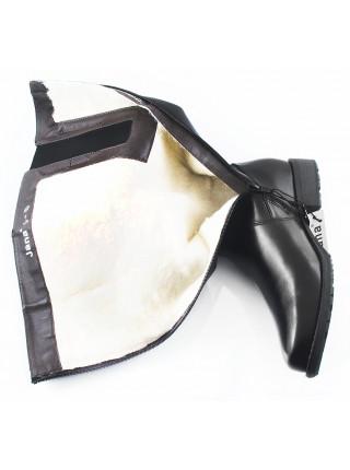 Сапоги зимние кожаные JANA (Germany) 11095 черные