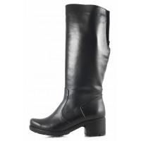 11101 МАТЭ (Russia) Сапоги осенние кожаные черные