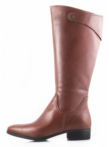 11115 TAMARIS (Germany) Сапоги осенние кожаные коричневые