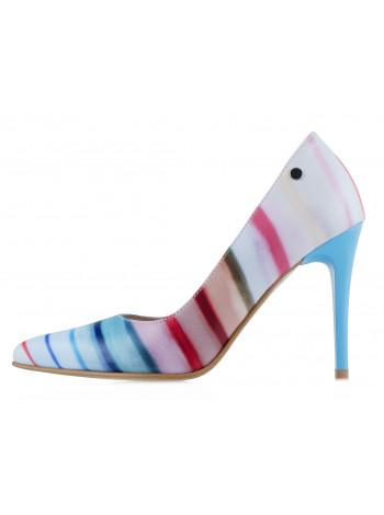 11252 SHOEBOOUTIQUE (Poland) Туфли кожаные разноцветные