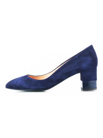 11333 VICTIM (Poland) Туфли замшевые темно-синие
