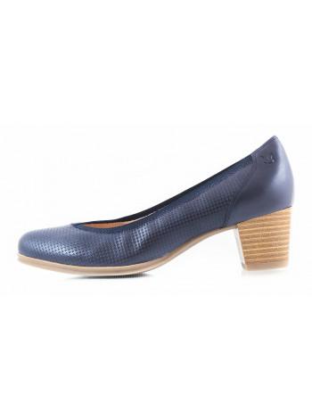 11358 CAPRICE (Germany) Туфли кожаные темно-синие