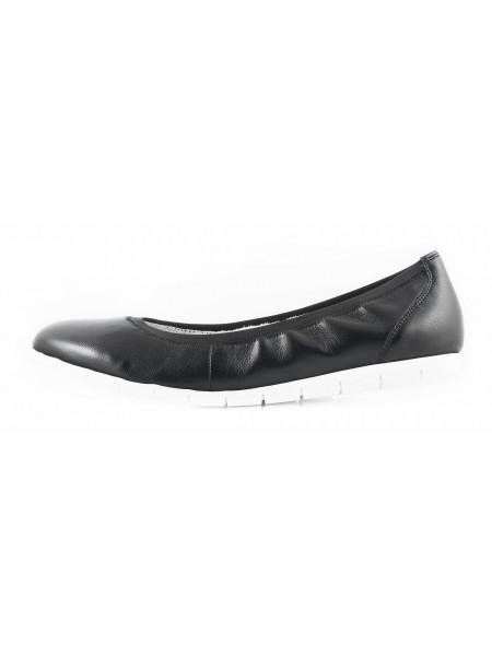 11359 TAMARIS (Germany) Балетки кожаные черные