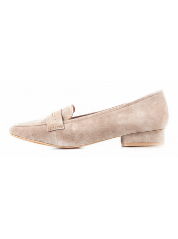 11364 JANA (Germany) Туфли замшевые бежевые