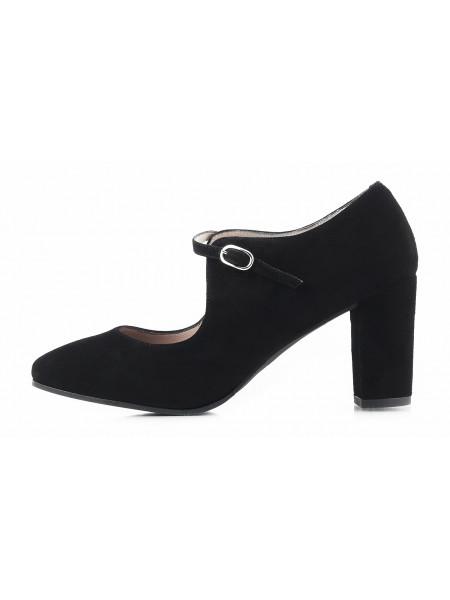 Туфли замшевые DIBIA (ИСПАНИЯ) 11427 черные