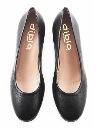 11428 DIBIA (Spain) Туфли кожаные черные