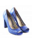 11453 NOE (Italy) Туфли открытые кожаные синие