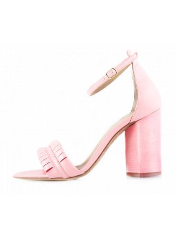 11486 REDA MILANO (Italy) Босоножки кожаные розовые