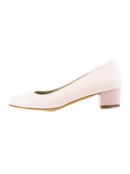 Туфли кожаные BEFEETGERALD (ИТАЛИЯ) 11501 светло-розовые