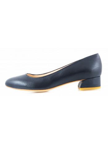 Туфли кожаные BEFEETGERALD (ИТАЛИЯ) 11508 темно-синие