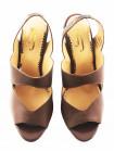 Босоножки кожаные J.J.HEITOR SHOES (Portugal) 11522 коричневые