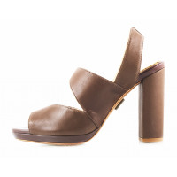 11522 J.J.HEITOR SHOES (Portugal) Босоножки кожаные коричневые