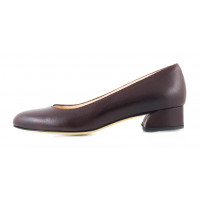 11548 BEFEETGERALD (Italy) Туфли кожаные темно-коричневые