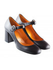 11639 BEFEETGERALD (Italy) Туфли кожаные темно-коричневые