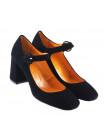11641 BEFEETGERALD (Italy) Туфли замшевые черные