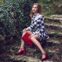 11655 BEFEETGERALD (Italy) Туфли открытые лаковые красные