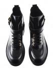 11756 BEFEETGERALD (Italy) Полуботинки осенние кожаные черные