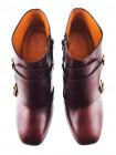 11758 BEFEETGERALD (Italy) Ботильоны осенние кожаные коричневые