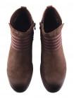 11772 CAPRICE (Germany) Полуботинки осенние нубуково-кожаные коричневые
