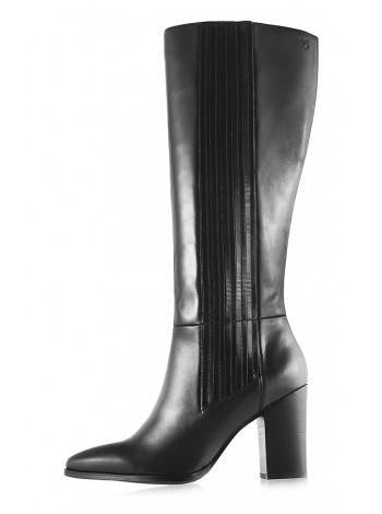 11819 CAPRICE (Germany) Сапоги осенние кожаные черные