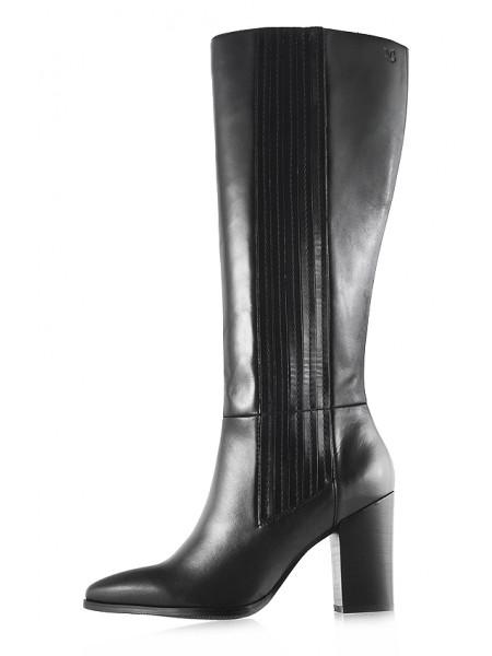 Сапоги осенние кожаные CAPRICE (Germany) 11819 черные
