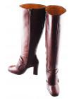 Сапоги осенние кожаные BEFEETGERALD (ИТАЛИЯ) 11841 коричневые