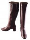 Сапоги осенние кожаные BEFEETGERALD (ИТАЛИЯ) 11934 коричневые