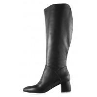 11935 BEFEETGERALD (Italy) Сапоги осенние кожаные черные