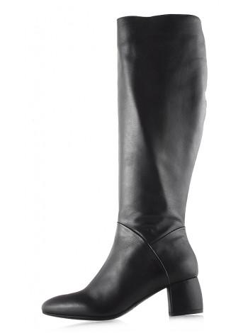 Сапоги еврозима кожаные BEFEETGERALD (ИТАЛИЯ) 11937 темно-коричневые