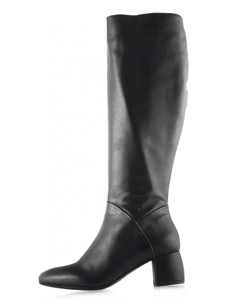 Сапоги еврозима кожаные BEFEETGERALD (Italy) 11937 темно-коричневые