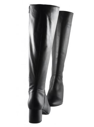 11938 BEFEETGERALD (Italy) Сапоги еврозима кожаные черные